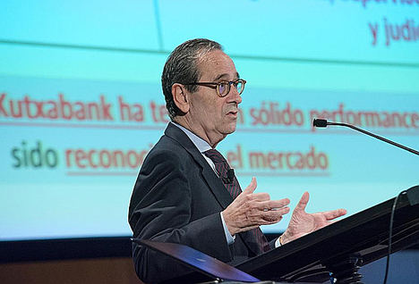Kutxabank obtiene un beneficio de 332 millones de euros en 2018, un 10% más