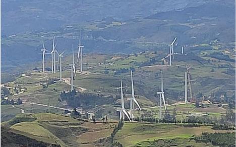 Grenergy conecta los parques eólicos Duna y Huambos en Perú