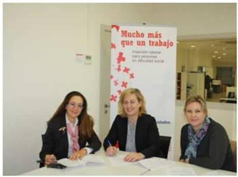 ASEME firma un convenio de colaboración con Cruz Roja para fomentar la igualdad de oportunidades en el mundo laboral