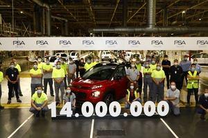 La planta de Zaragoza de Groupe PSA alcanza los 14 millones de unidades