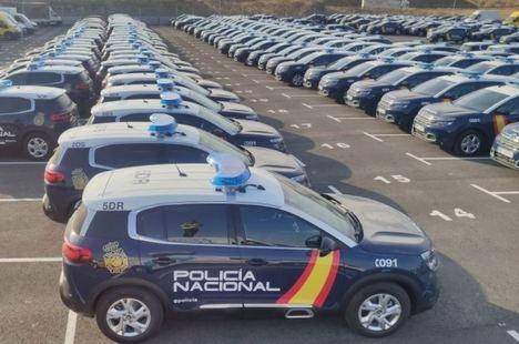 El Cuerpo Nacional de Policía confía en los vehículos de Groupe PSA