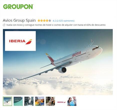 Groupon y Avios celebran sus 3 años de colaboración