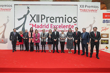 La Comunidad de Madrid premia a empresas y organizaciones que orientan su gestión hacia los clientes