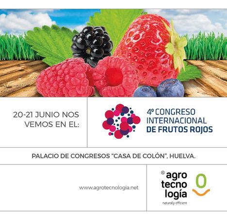 Grupo Agrotecnología ha participado en el 4º Congreso Internacional de Frutos Rojos