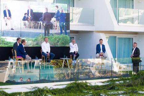 Iberostar da la bienvenida a 100 agentes alemanes que disfrutan en Mallorca la experiencia de viaje en el nuevo escenario