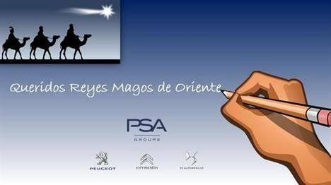 El Grupo PSA escribe a SS.MM. los Reyes Magos