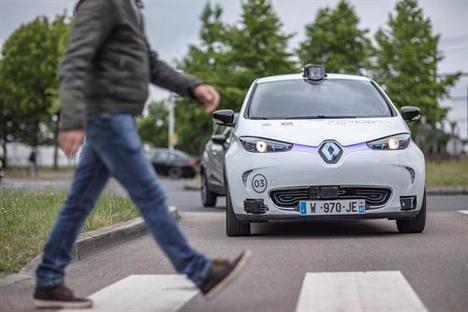 El Grupo Renault socio del proyecto Rouen Normandy Autonomous Lab