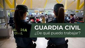 Cómo entrar en la Guardia Civil