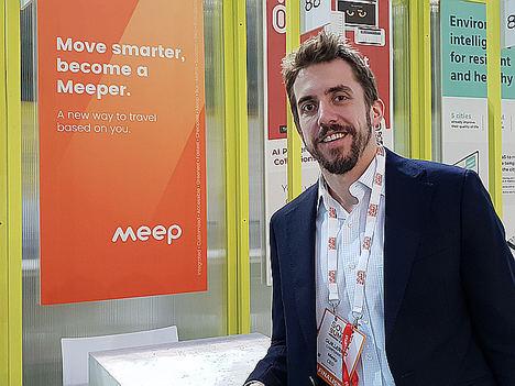 Guillermo Campoamor, CEO de Meep.