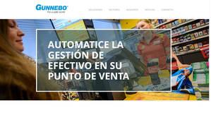 Gunnebo crea una web dedicada a la gestión de efectivo en el punto de venta