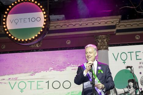 La embajada británica en España celebra los 100 años del voto femenino en el Reino Unido