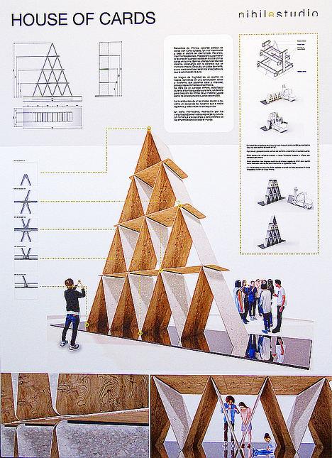 """El proyecto """"House of Cards"""", de Nihil Estudio, gana el concurso de Trans-hitos 2019"""