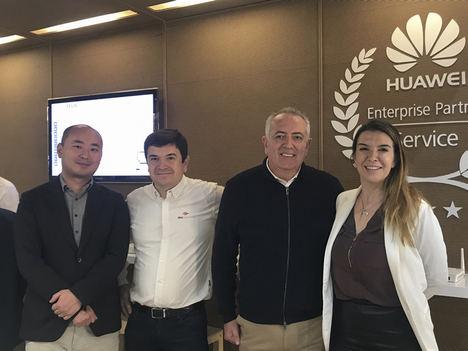 Huawei, Alea Soluciones y Aotec se unen para apoyar a los operadores locales de teleco tras las DANA
