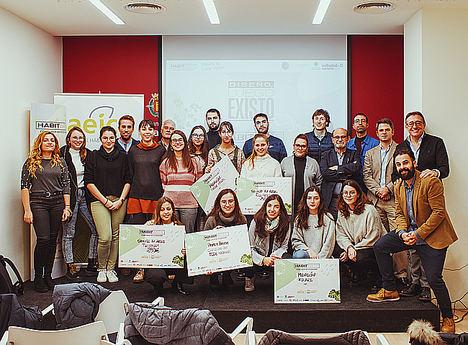 Aeice entrega los premios del primer concurso de Ecodiseño de la ciudad de Valladolid