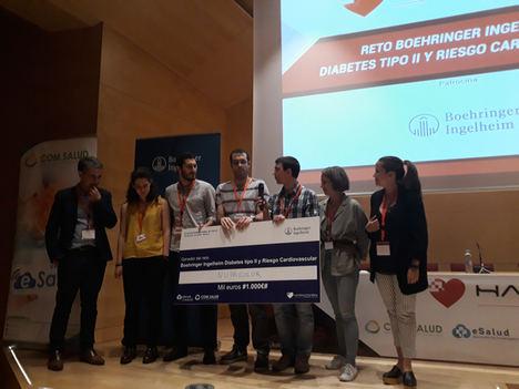 NutriColor, mejor App para diabetes tipo 2 y riesgo cardiovascular en el III Hackathon Nacional de Salud