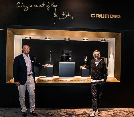 Grundig presenta la exclusiva colección Massimo Bottura