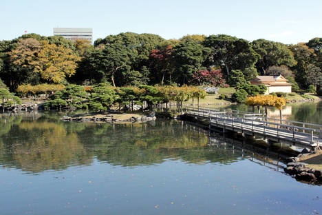 Hamarikyu Gardens.
