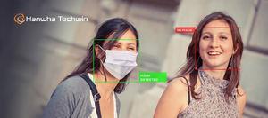 Hanwha Techwin presenta la aplicación de detección de mascarillas