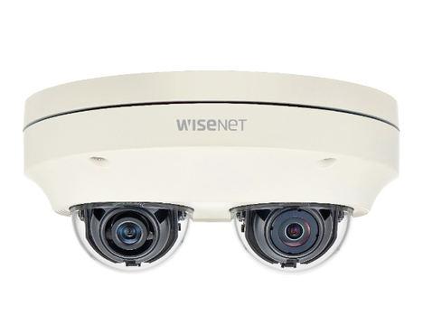Hanwha Techwin presenta la cámara multidireccional Wisenet P de 2 canales