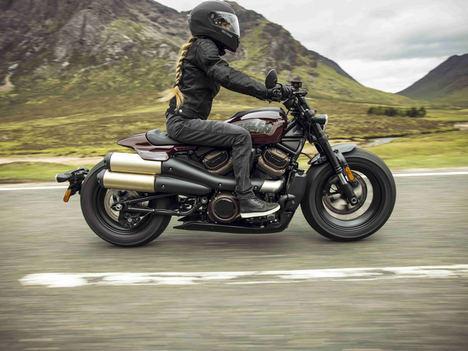 El nuevo modelo Harley-Davidson® Sportster® S ofrece un rendimiento sin fisuras