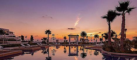 Hilton Tangier Al Houara Resort & piscina, spa.