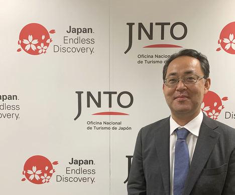 Hiroshi Yamashita, nuevo director ejecutivo de la Oficina Nacional de Turismo de Japón en España