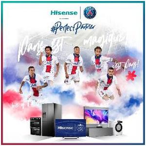 Hisense, nuevo patrocinador oficial del club Paris Saint-Germain