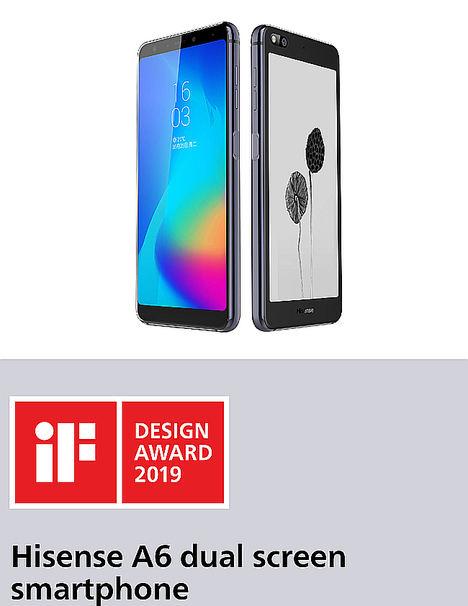 Hisense gana el iF DESIGN AWARD 2019