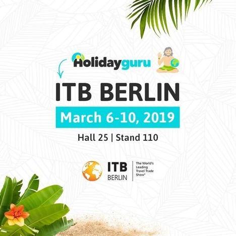 Holidayguru presente en la ITB de Berlín, la feria de turismo más grande del mundo