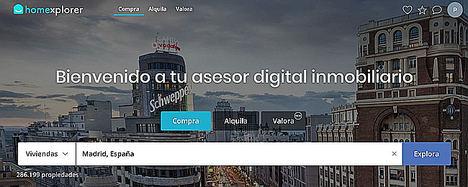 Homexplorer lanza el primer asesor inmobiliario digital gratuito