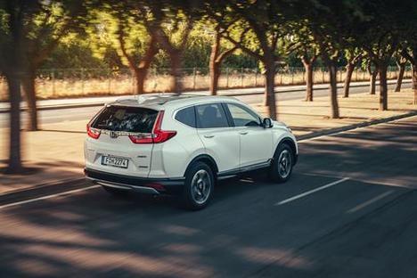Los Honda CR-V Hybrid y HR-V Sport, estrellas en el Automobile Barcelona