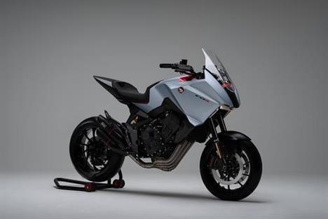 Honda presenta el Concept CB4X