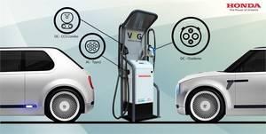 Honda instala un nuevo sistema de carga bidireccional de energía
