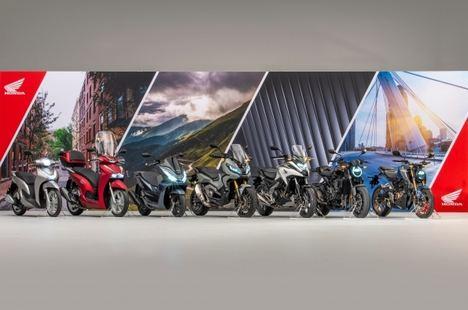 Honda anuncia siete novedades más para su gama 2021 de motos