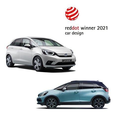 Los nuevos Honda Jazz e:HEV y Crosstar e:HEV, galardonados