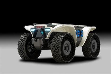 Honda presenta dispositivos robóticos y de gestión energética