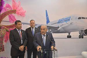 El vicepresidente de Honduras y el presidente de Air Europa dan a conocer en Fitur la nueva ruta a San Pedro Sula