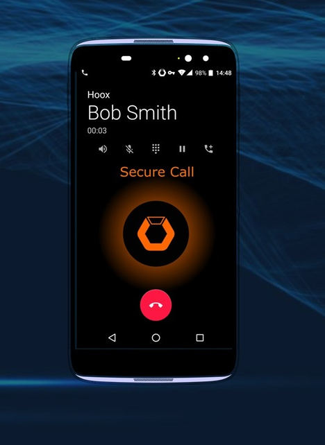 Atos Hoox K31, el smartphone más seguro del mundo utilizado por los gobiernos para situaciones de emergencia