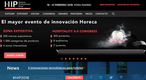 HIP 2018 convierte Madrid en la capital Horeca europea