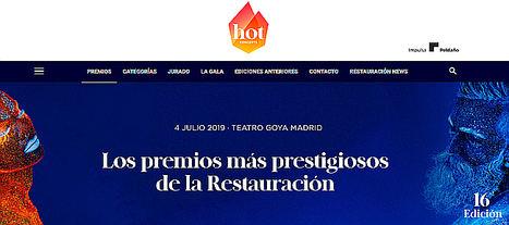Belén Martín, José María Carrillo y Paco Quirós, finalistas de los premios Hot Concepts