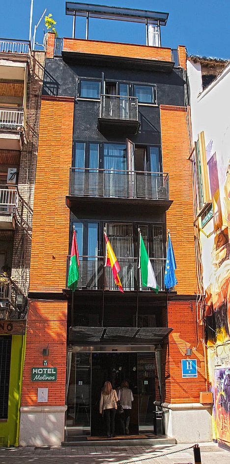 Hotel Molinos. Granada, España.