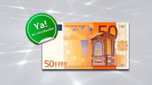 Hoy se presenta el nuevo billete de la Serie Europa: El billete de 50€