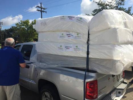 Tempur Sealy donará 1 millón de dólares en productos a las víctimas del Huracán Harvey