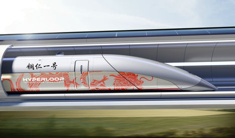 Hyperloop Transportation Technologies (HTT) firma un nuevo acuerdo para construir el primer Hyperloop en China