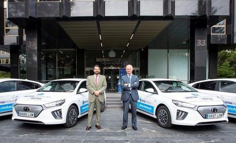 Hyundai entrega una flota de 140 IONIQ a Mutua Madrileña