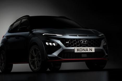Hyundai desvela las primeras imágenes del nuevo Kona N