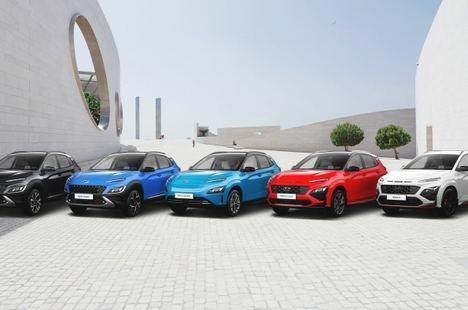 La familia Kona de Hyundai