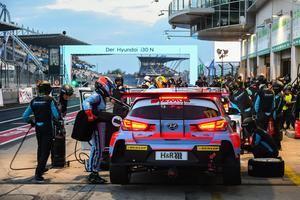 El Hyundai N en la carrera de 24 horas de Nürburgring 2019