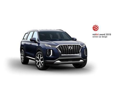 El Hyundai Palisade gana el prestigioso Premio Red Dot a la Excelencia en Diseño