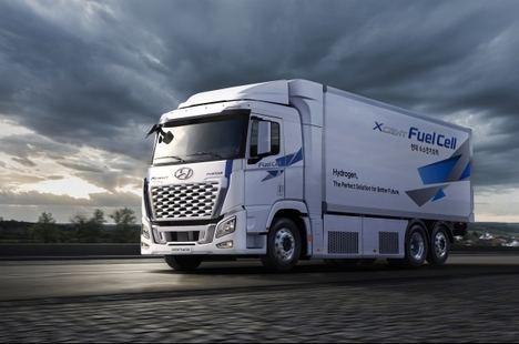 Hyundai mejora el camión XCient Fuel Cell